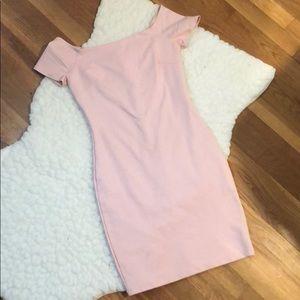 Lulus baby pink bodycon
